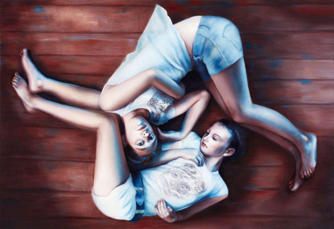 Après nous le Déluge, 2016 oil on canvas, 130 x 180 cm