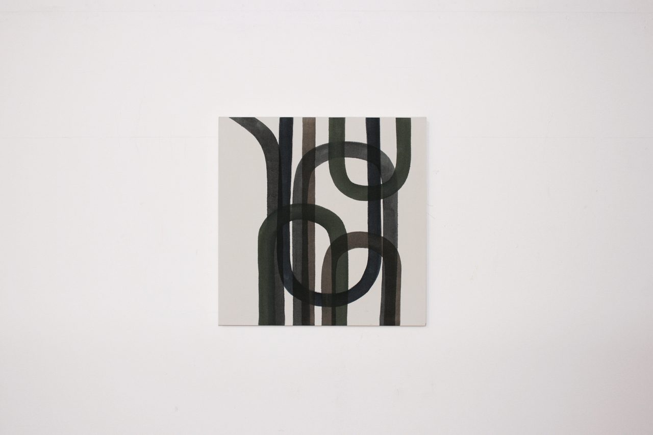 """Piela"", oil on canvas, 50 x 50 cm"