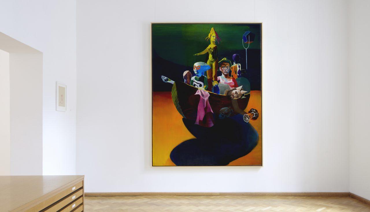 Fähre, 240x 180 cm, oil on canvas, 2010-2012. private collection, Saudi- Arabia