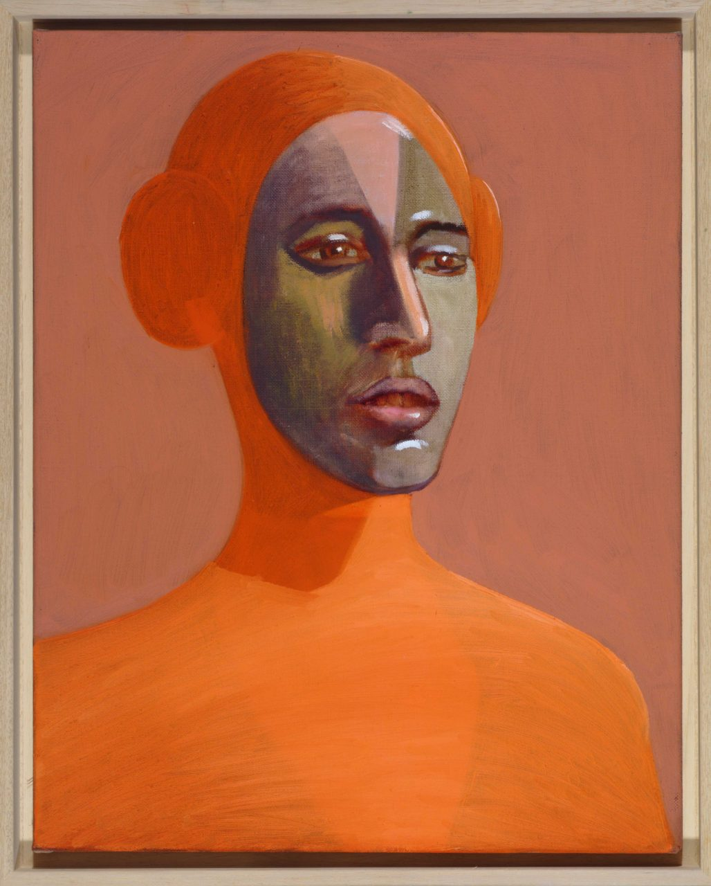 Kopf, 50x40cm, oil on canvas, 2012, collection Mohammed Abdul Latif Jameel, Saudi- Arabia