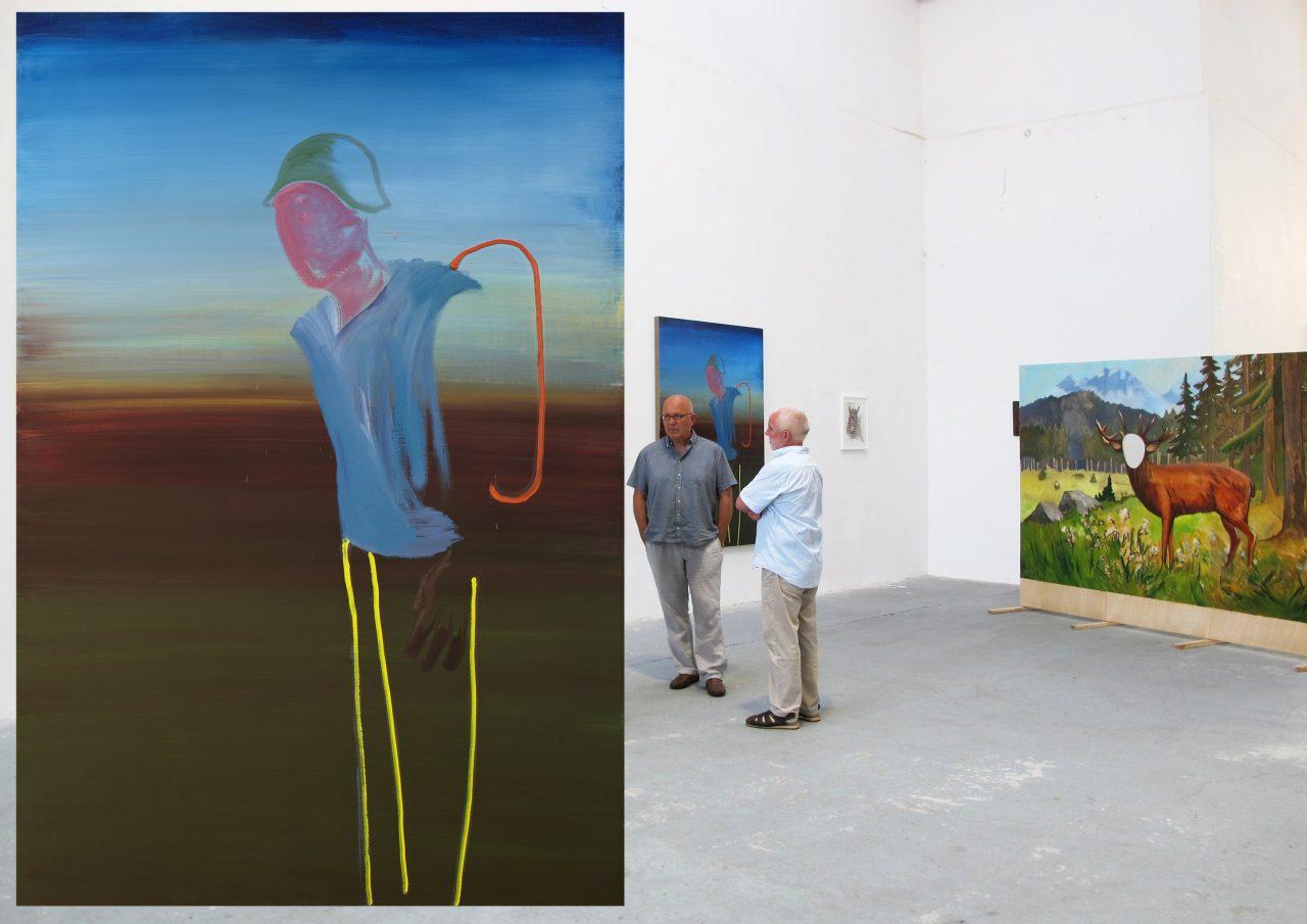 Soldat, 190x 130 cm, oil on canvas, 2011