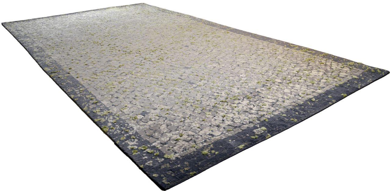 Die leere Fläche, 2,80 x 5m, Handgeknüpft Seide & Wolle, 2016