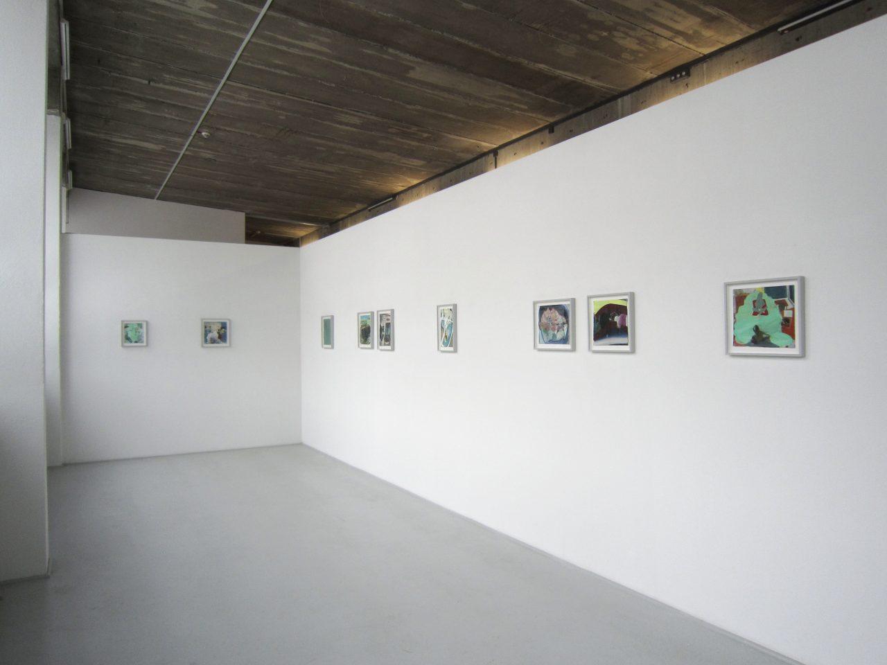 Installation view ULTRA MEER, Galerie Borssenanger, Chemnitz, 27.01.-24.02.2017