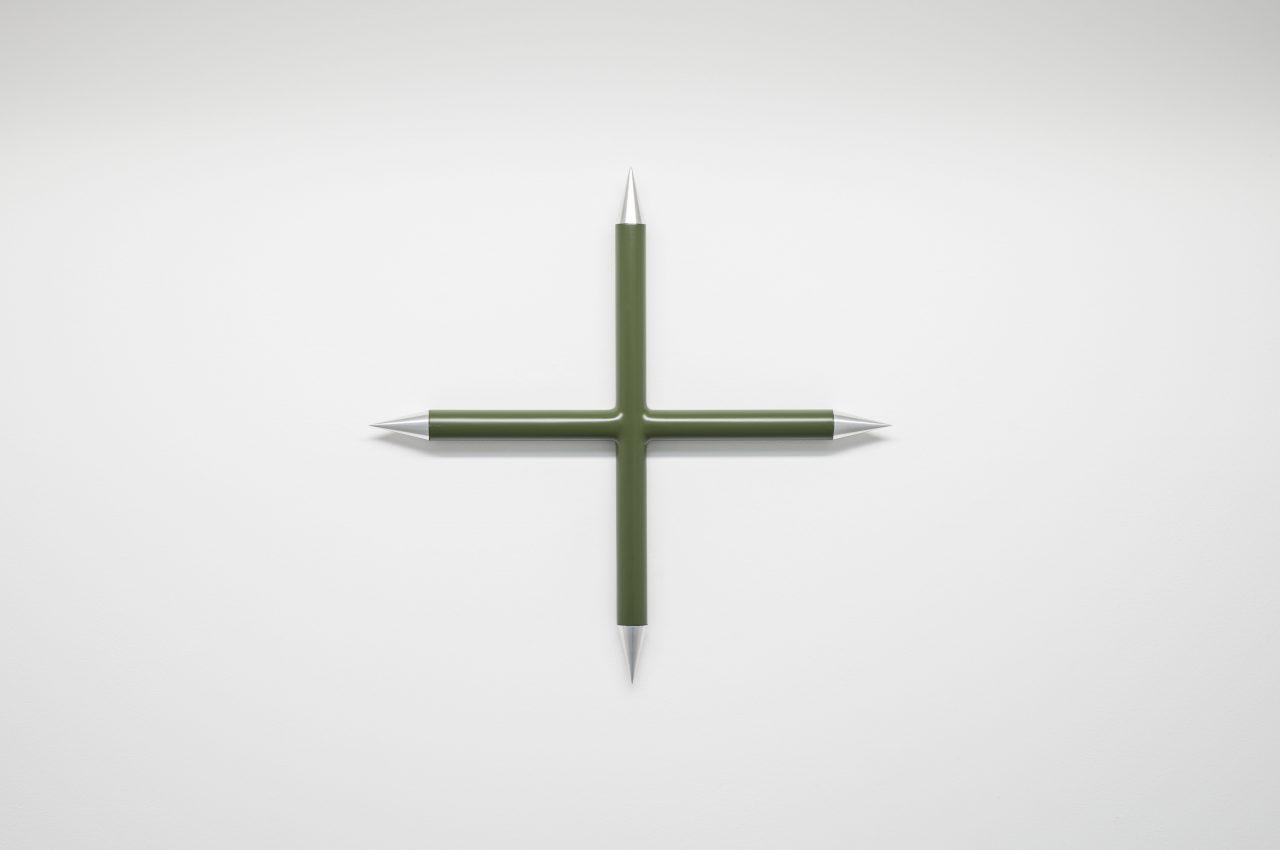 Cross I wallsculpture I 40 x 40 x 1 cm
