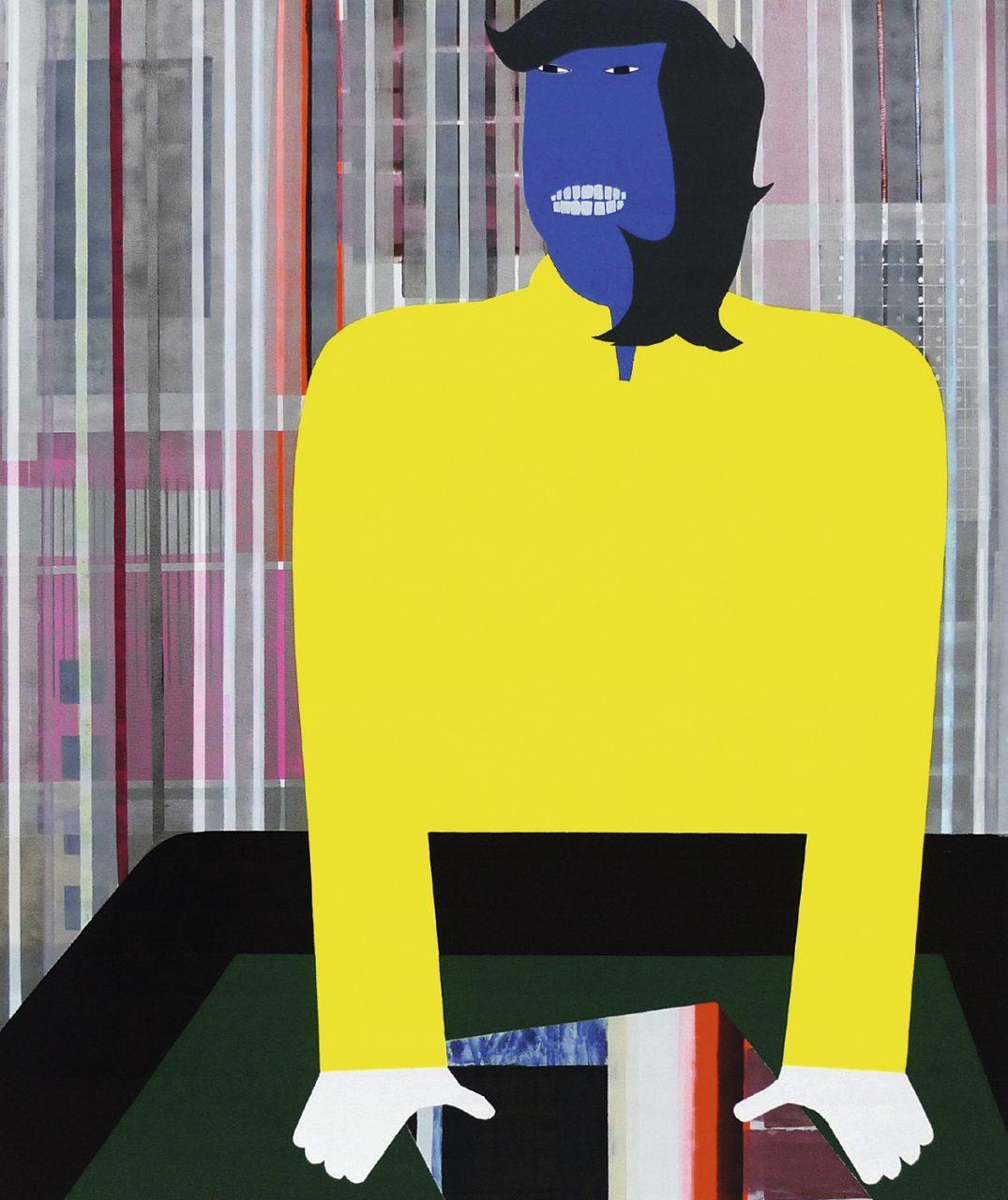 Yellow Sweater, 180x150cm, 2010