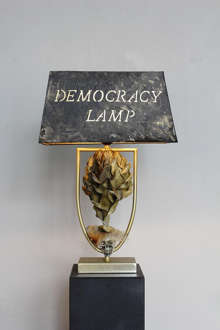 Art work 'DEMOCRACY LAMP'
