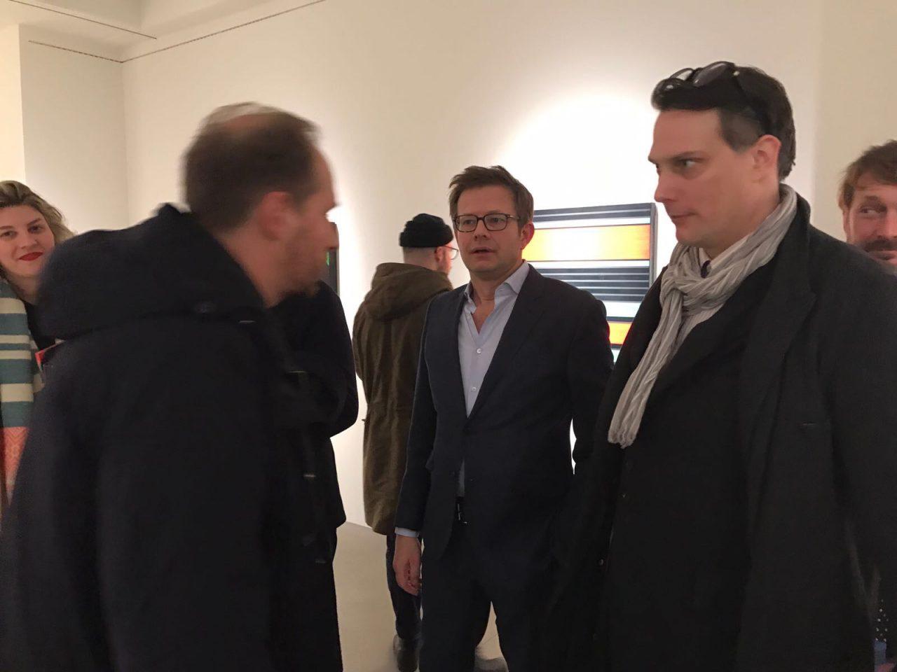 Opening Günter Fruhtrunk bei Grisebach