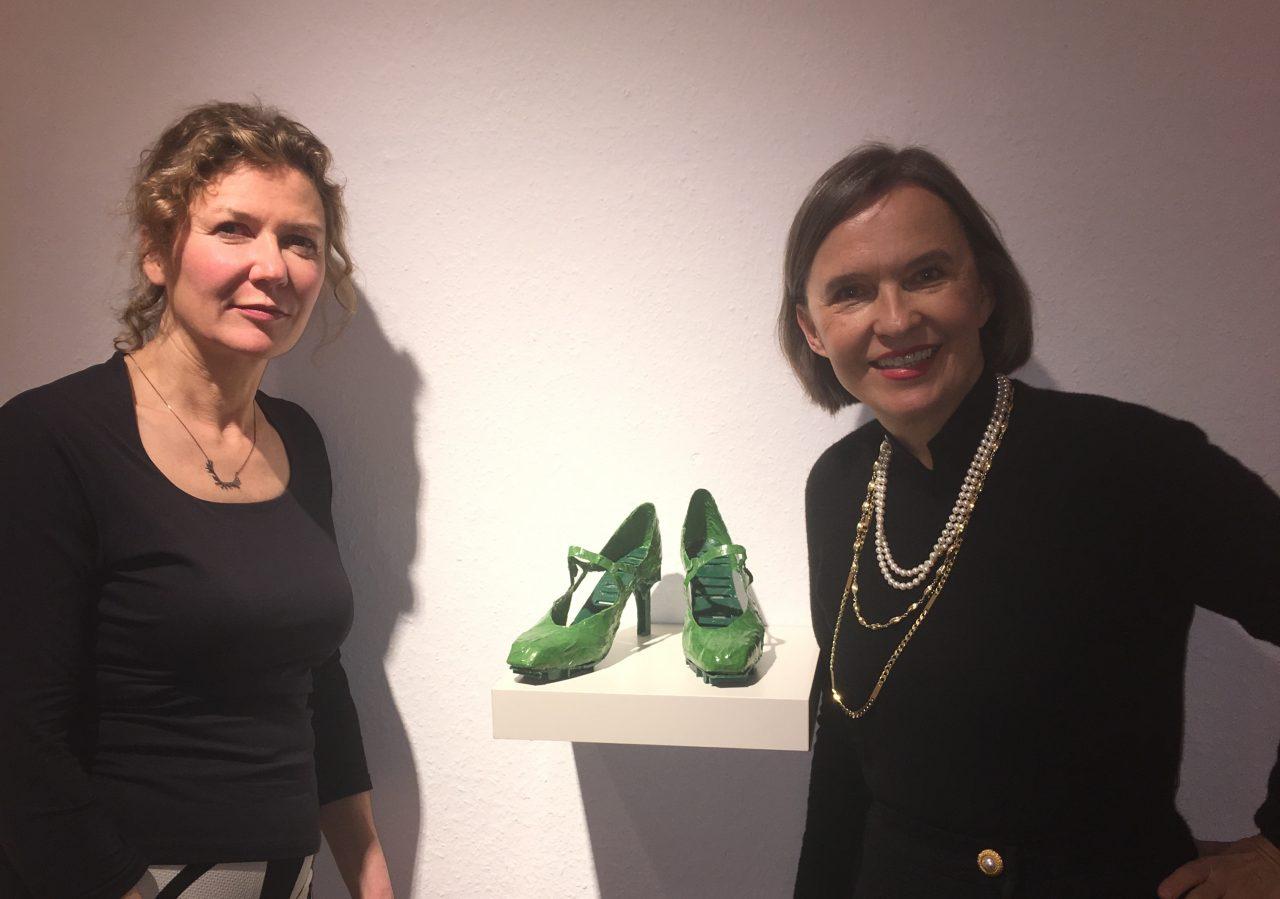 VERONIKA VEIT in der Galerie Schmalfuss Berlin