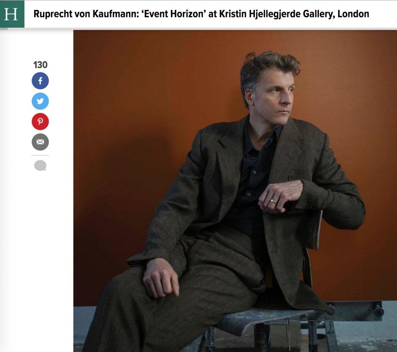 Ruprecht von Kaufmann: 'Event Horizon' image