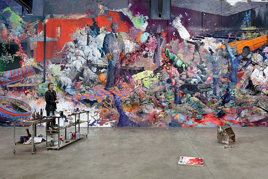 Jonas Burgert's monster landscape confronts decay, decline and death