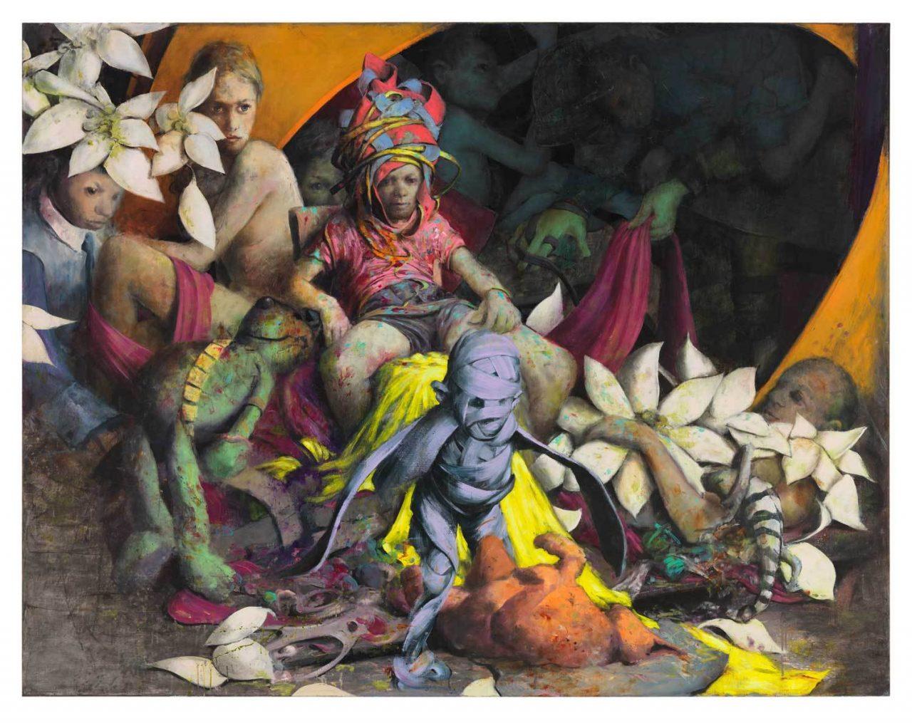 JONAS BURGERT's 'dark and dreamy artworks'  featured in Verve Magazine