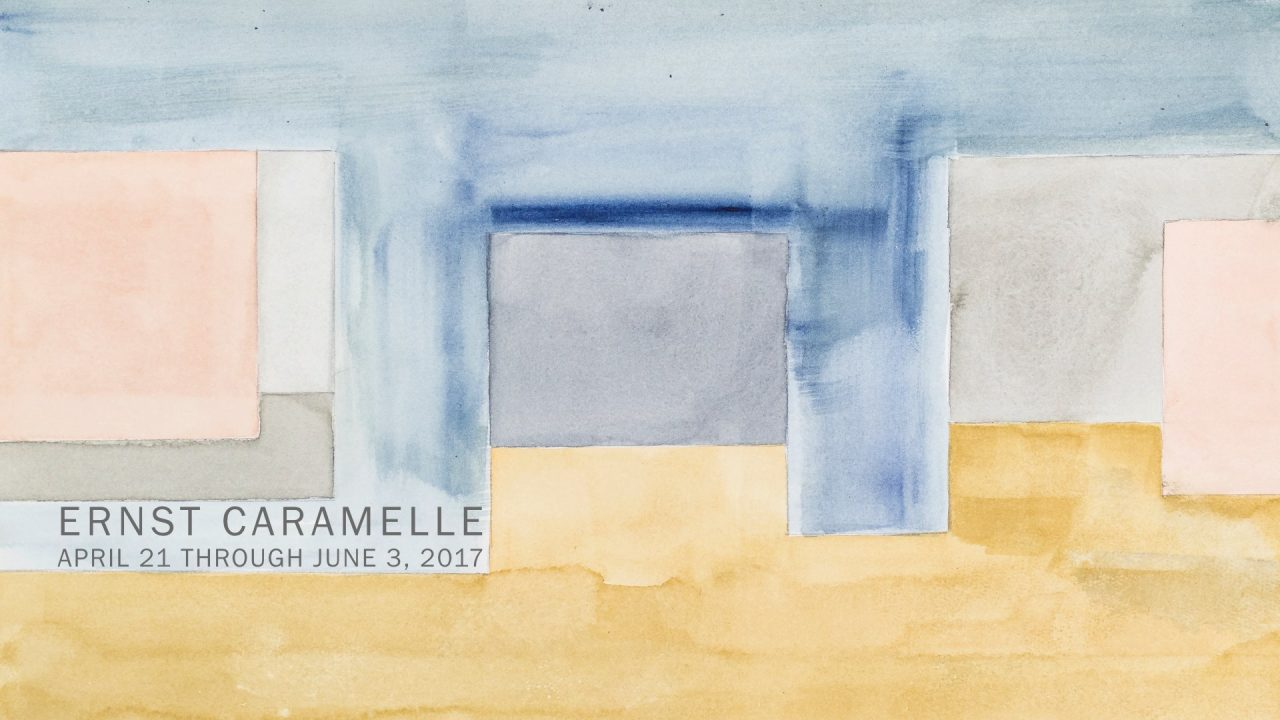 ERNST CARAMELLE - Opening at GALERIE MAI 36 Zuerich TONIGHT