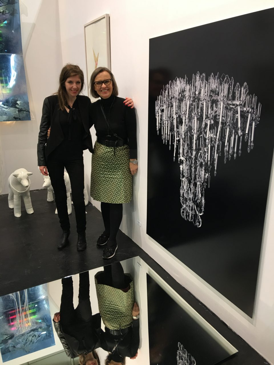 At Art Cologne 2017 with Alexandra Baumgartner