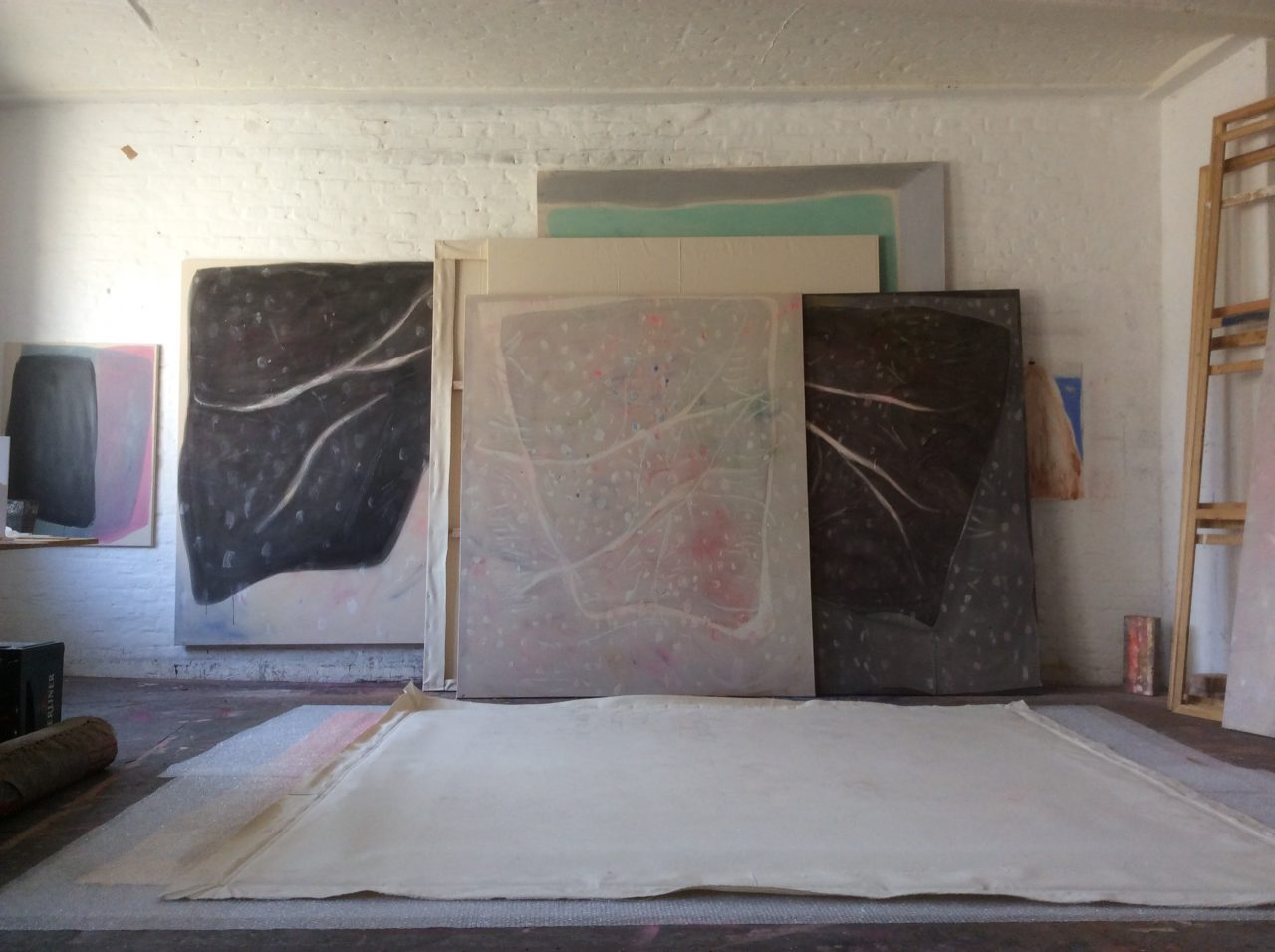 Studio prep,, The empty handed painter - series