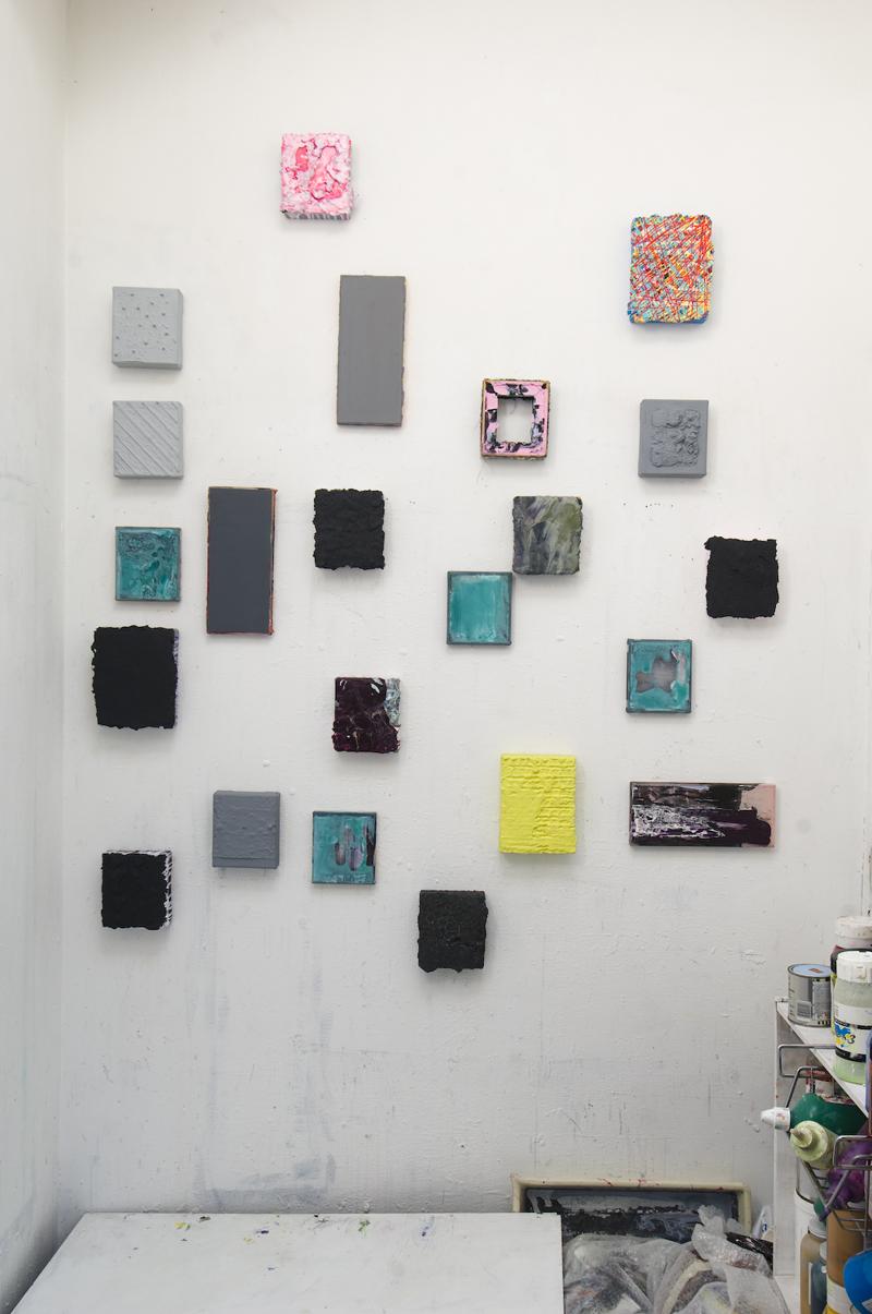 Studio wall (2011)