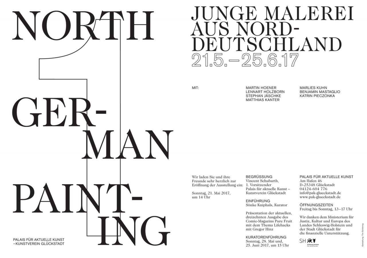 NORTH GERMAN PAINTING – Junge Malerei Aus Norddeutschland image