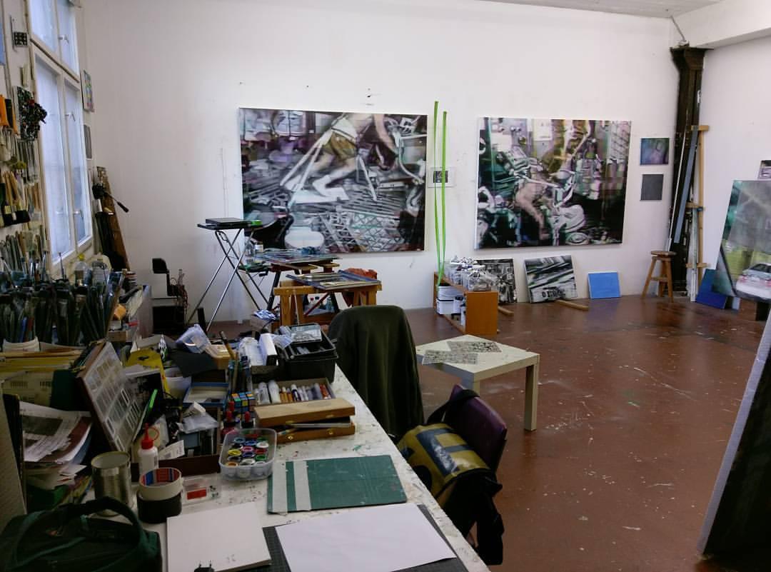 Studio - Atelierhaus Mengerzeile, Berlin