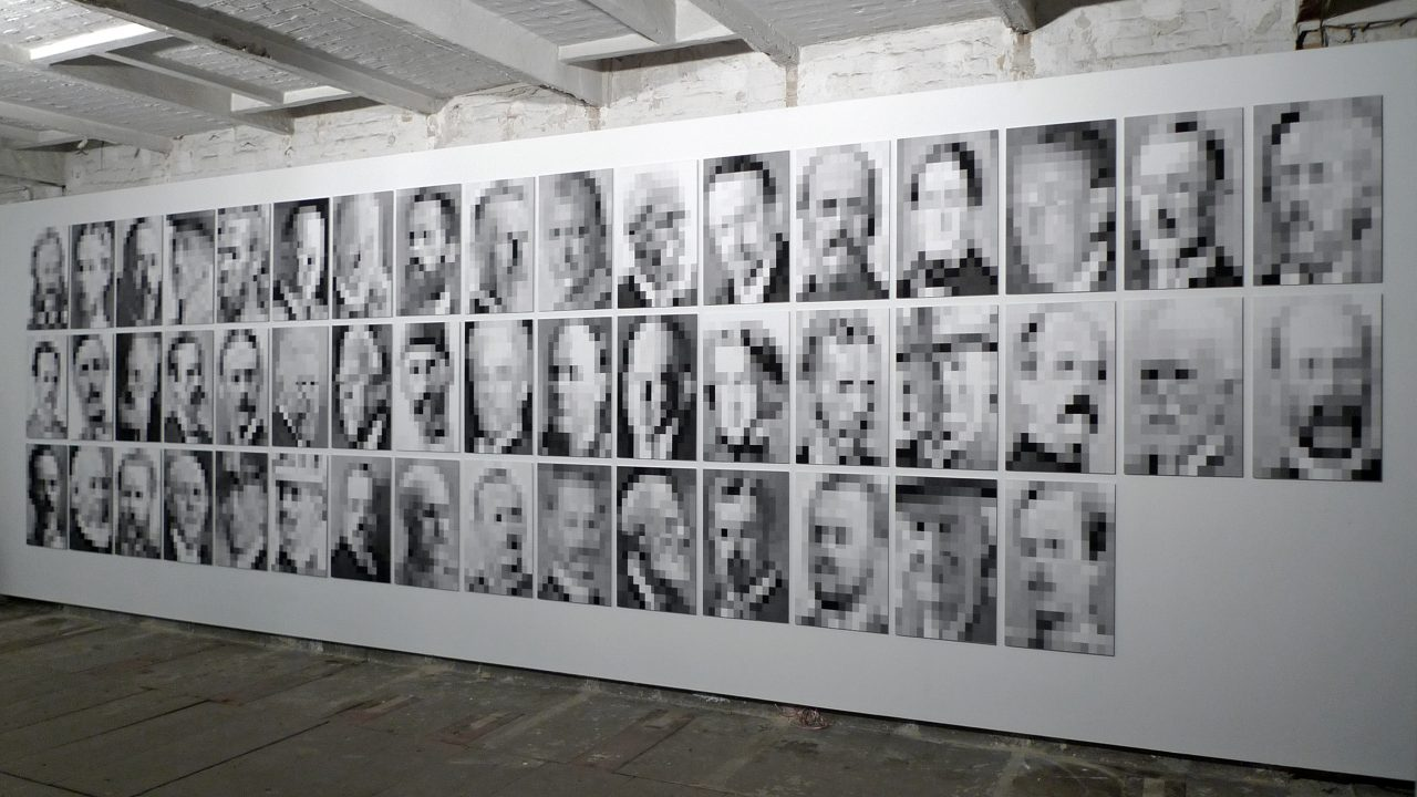 THE white male complex #3: 49 Portraits, 2013