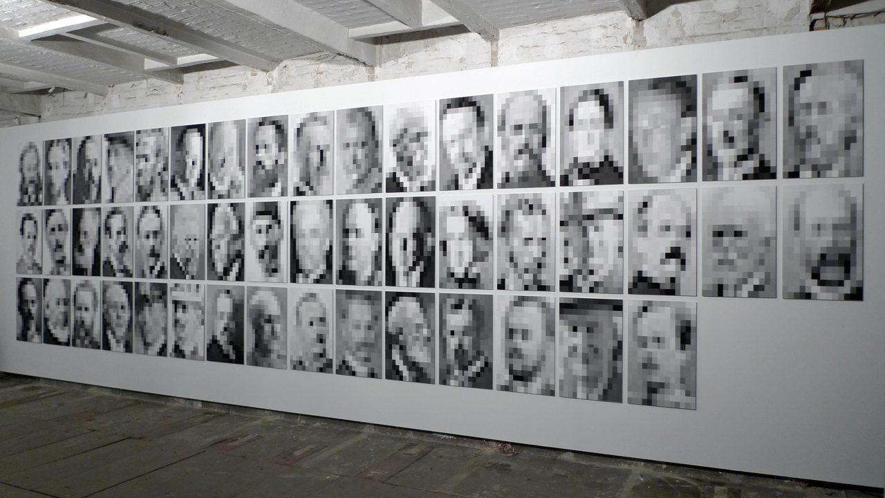 THE white male complex #3: 49 Portraits, 2013