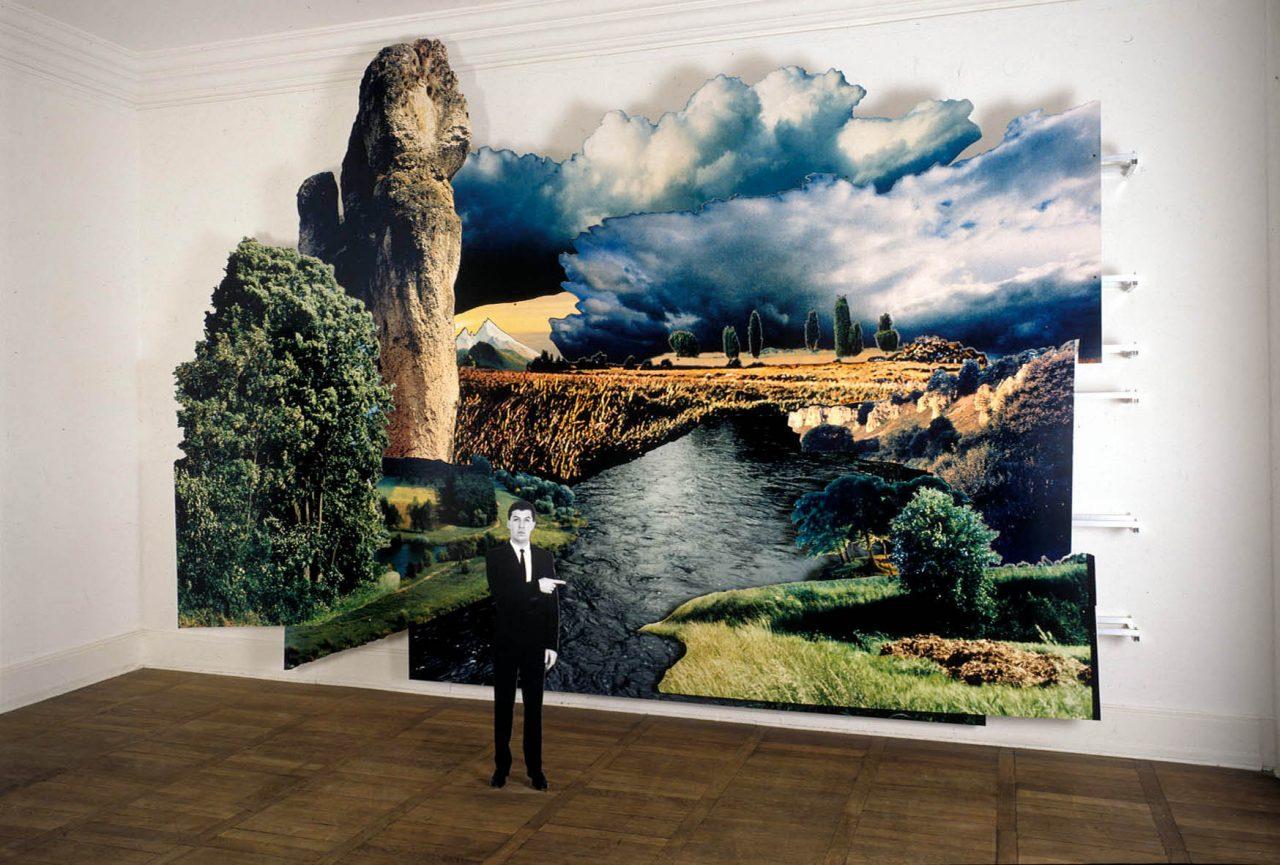 THE Landschaft – SELBST (starkes Wetter Deutschland!), 1995, 350 x 580 x 60 cm