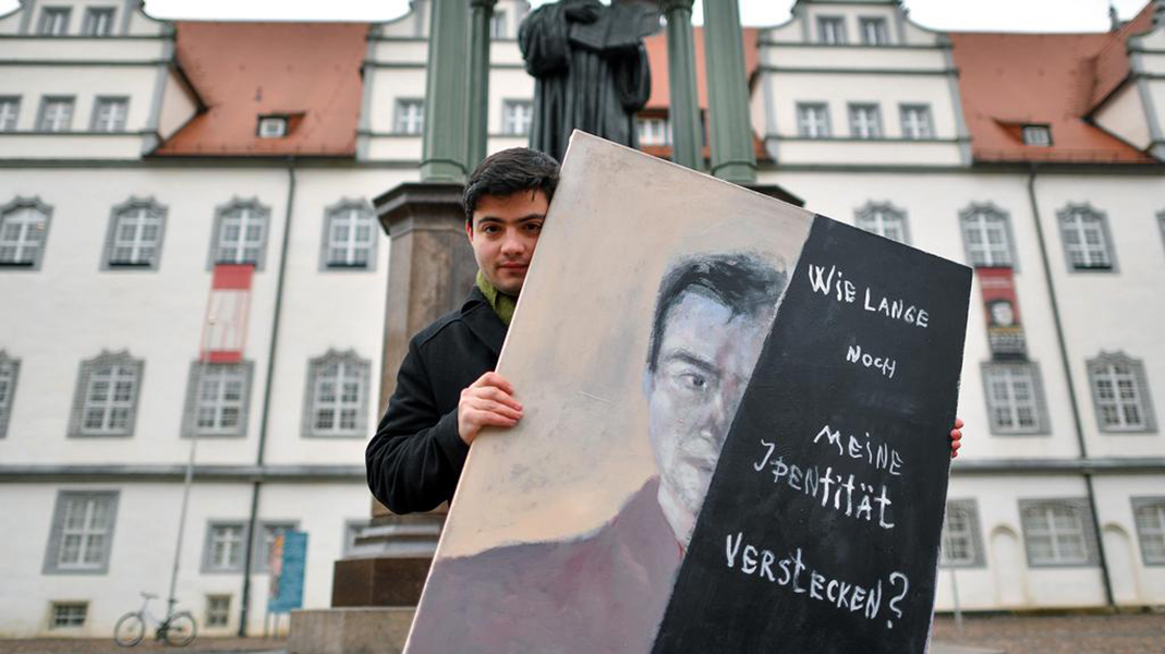 Artist taking on dark side of Luther's legacy - THE JEWISH CHRONICLE LONDON