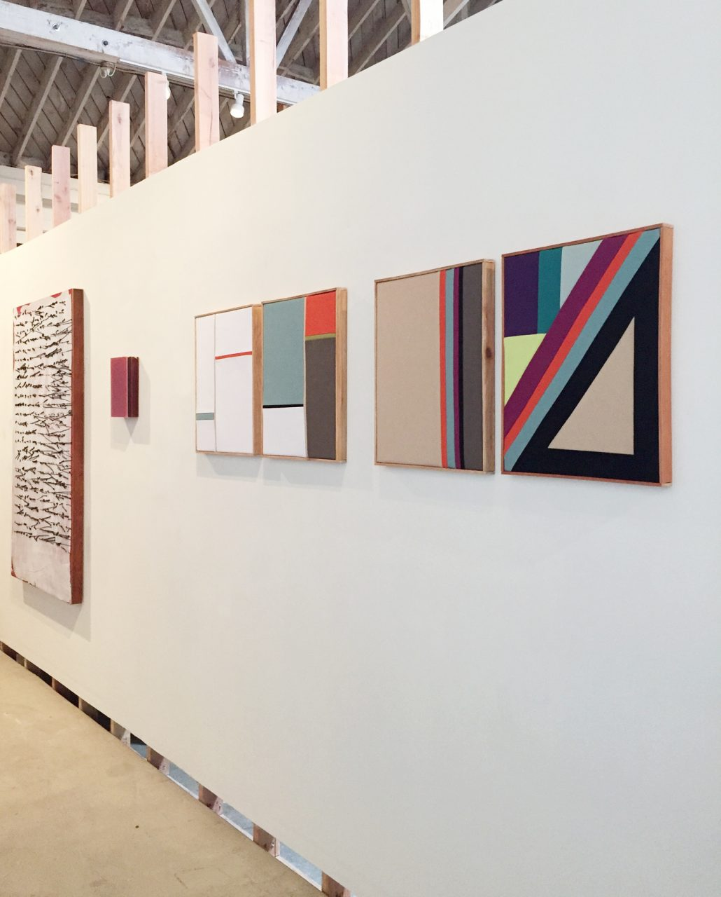 Installation shot from the group show