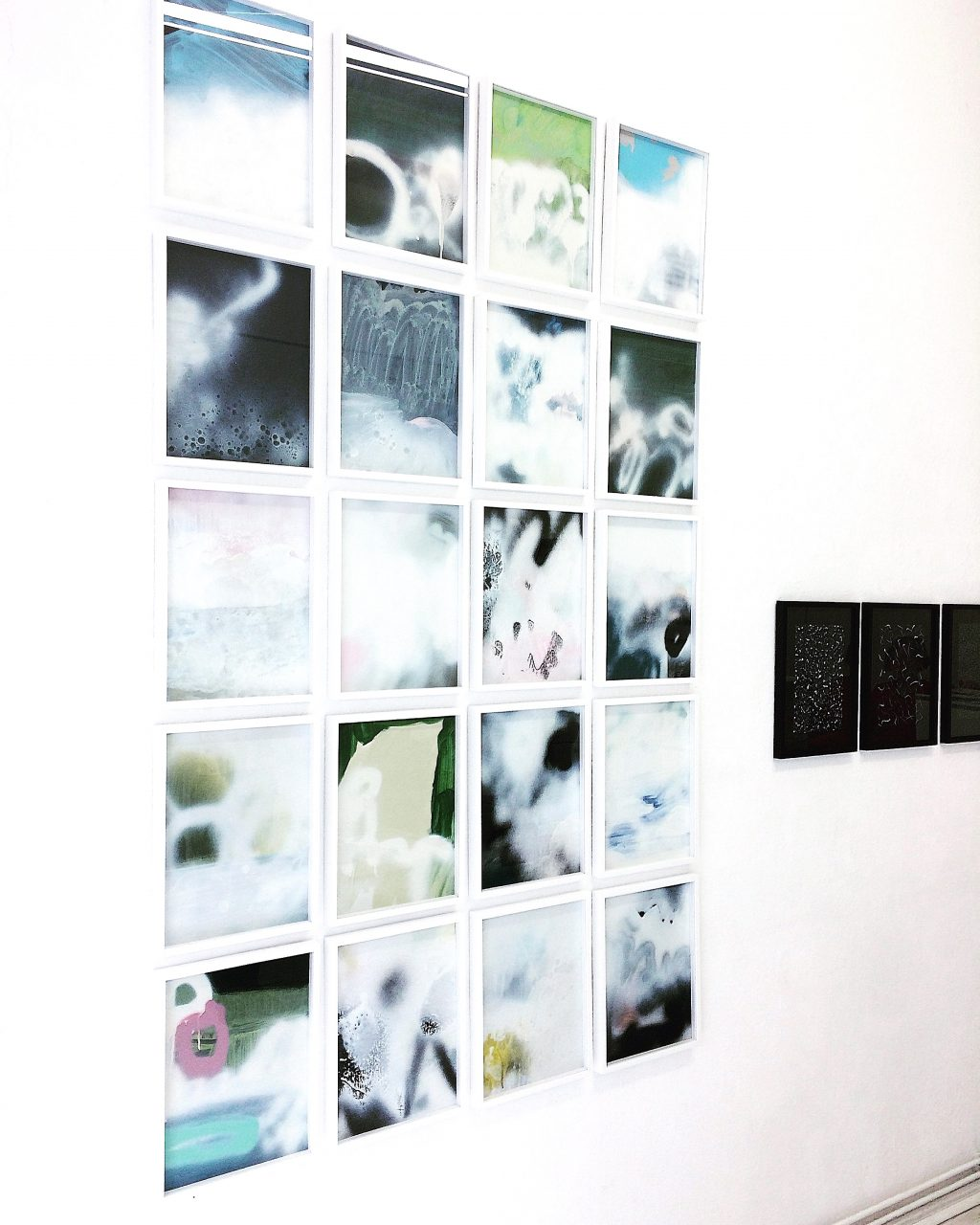 exhibition view #5#on#paper, JKD GALERIE, Berlin