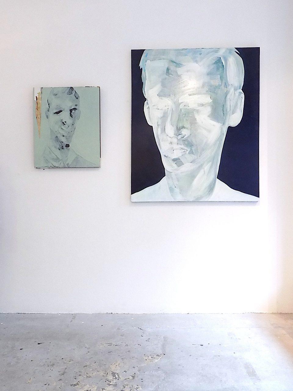 exhibition view UMӔTTELIGHED_VORACITY, BLAA GALLERI, Kopenhagen
