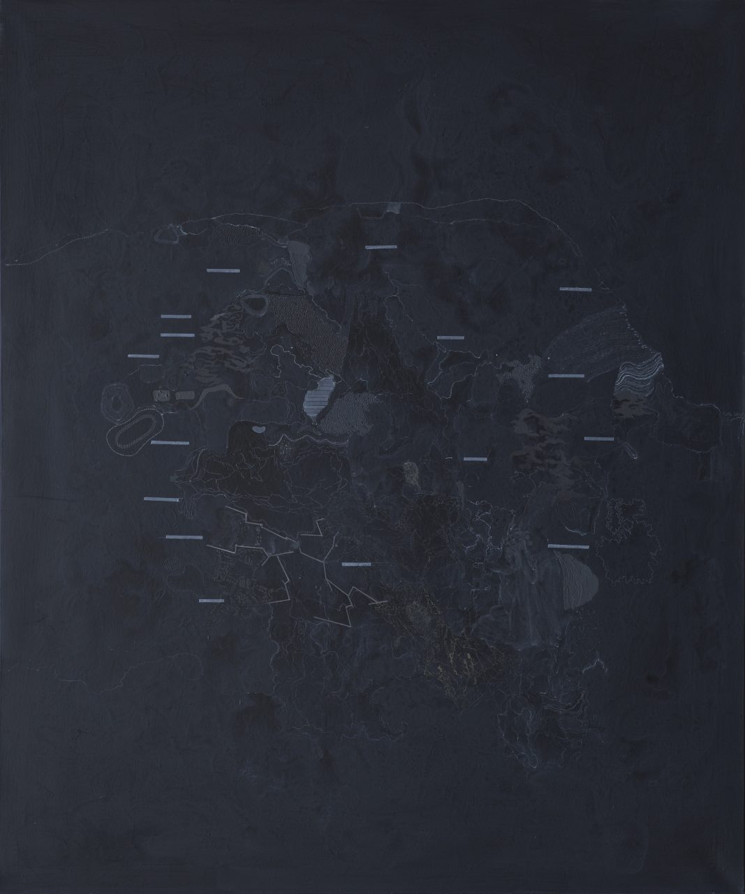 Black is rectangle,152X126.5cm, oil on canvas, 2013