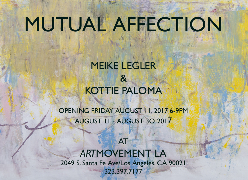 Upcoming Group Show with Kottie Paloma in Downtown Los Angeles, 11 August – 30 August 2017
