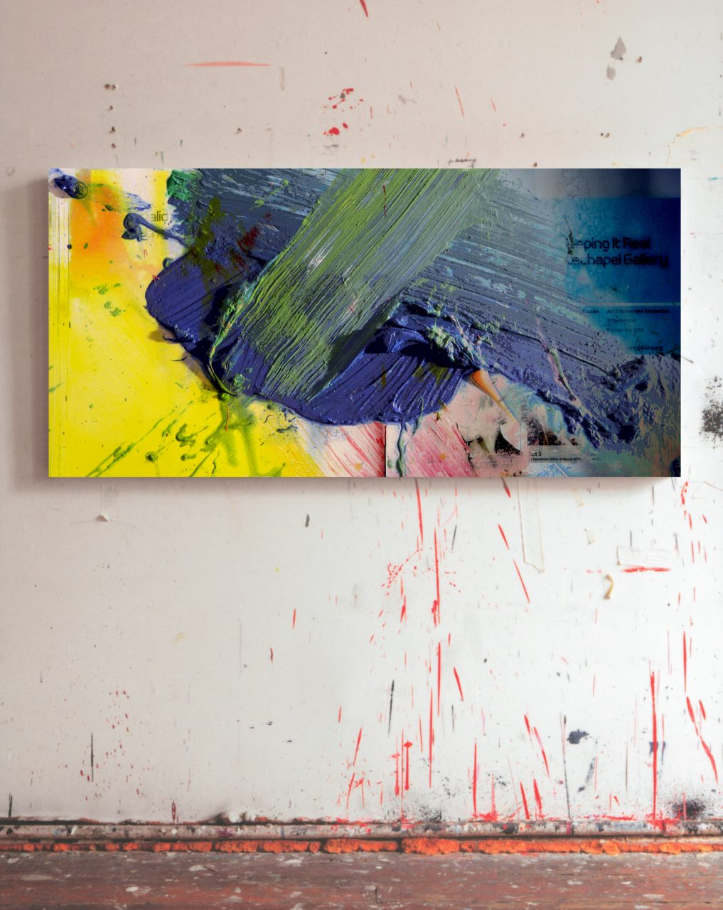 Studio Berlin — Painting 90 x 200 cm