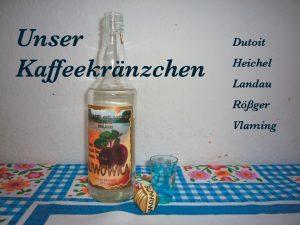 UNSER KAFFEEKRÄNZCHEN | FIRSTDATETHEARTIST Image
