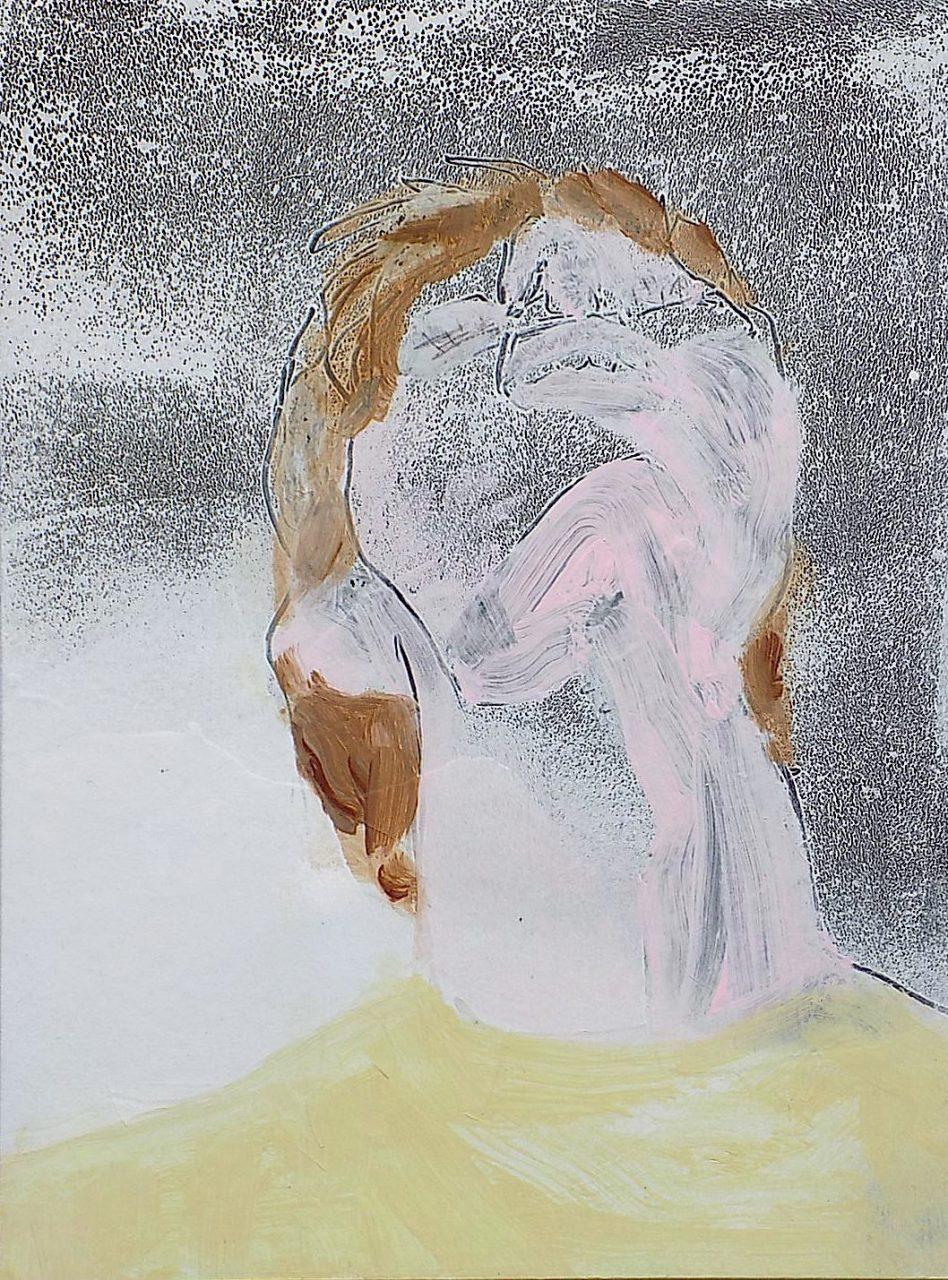 Jan Ziegler_2017_stargazer_acrylic on cardboard_40 x 30 cm_