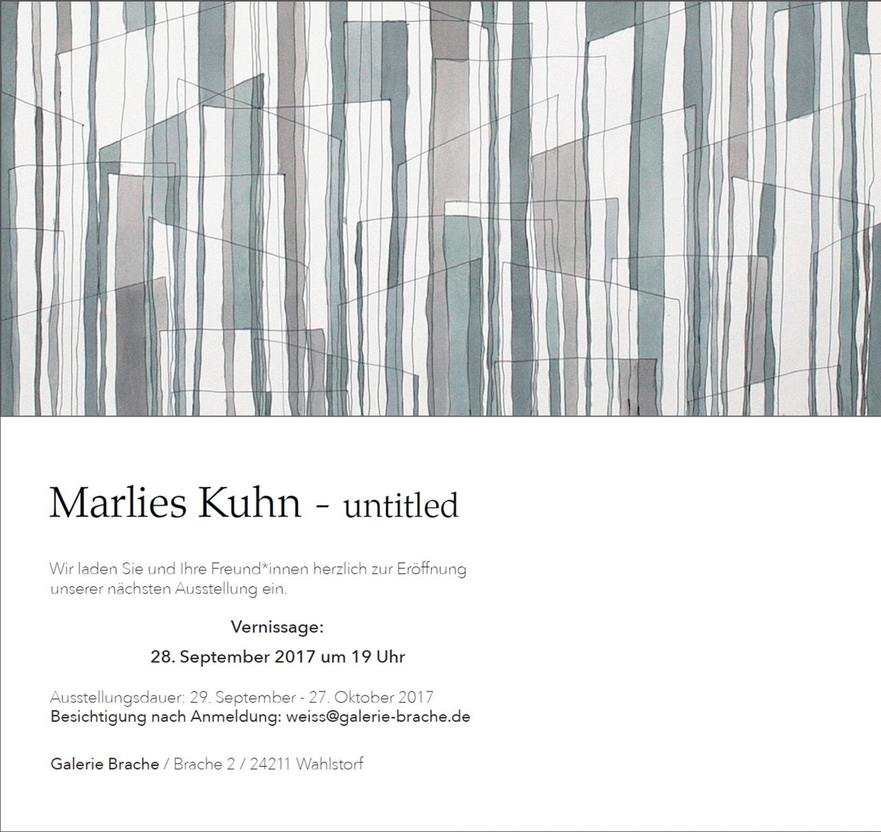 """""""Untitled"""" – Solo Show image"""
