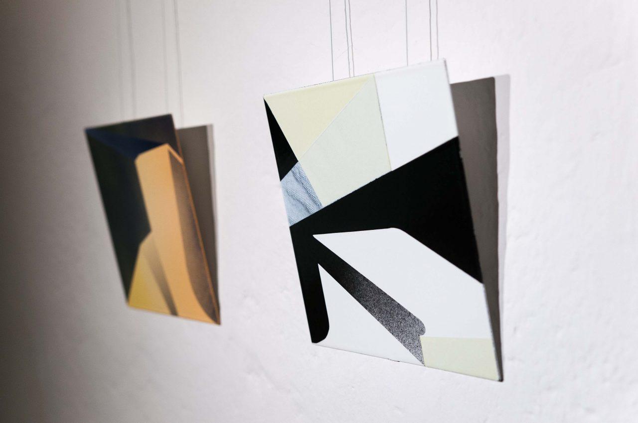 """""""re:form"""", Email, 25x25 cm / 25x25 cm, Galerie Waidspeicher Erfurt, 2017"""