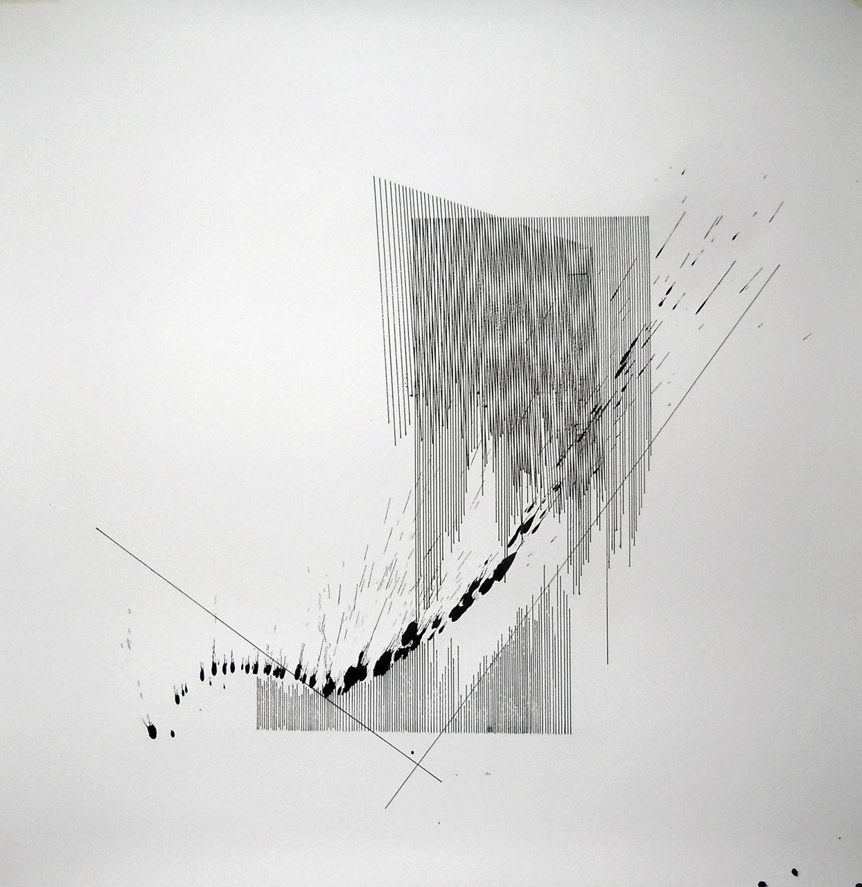 Op070917/1. 70x70cm ink on paper,