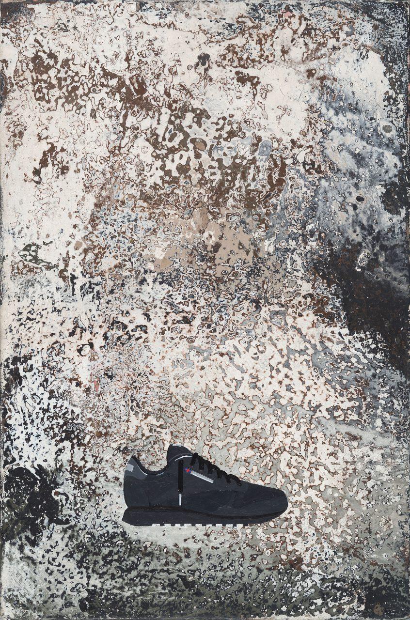 Sweet Sixteen (R, S), Eitempera auf Karton, 20 x 30 cm, 2017