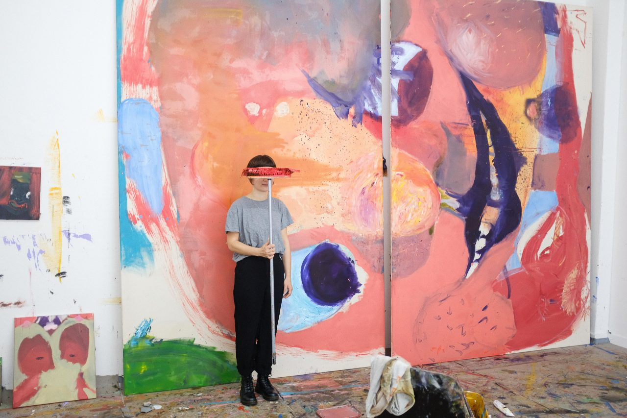 Artist Talk + Studio Visit I Aneta Kajzer I Künstlerhaus Bethanien