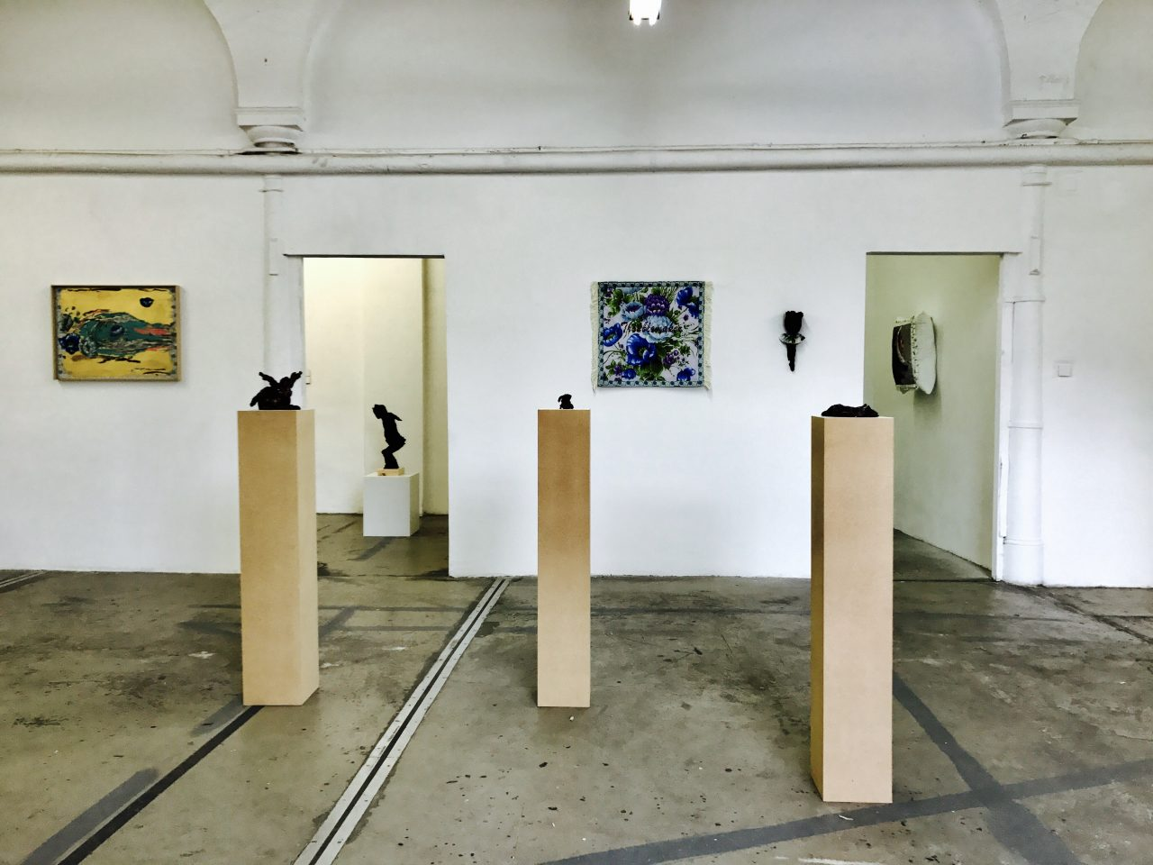 Atelierhof Kreuzberg, 2017, The Cycle Room, installation view, photo by Volker Roloff