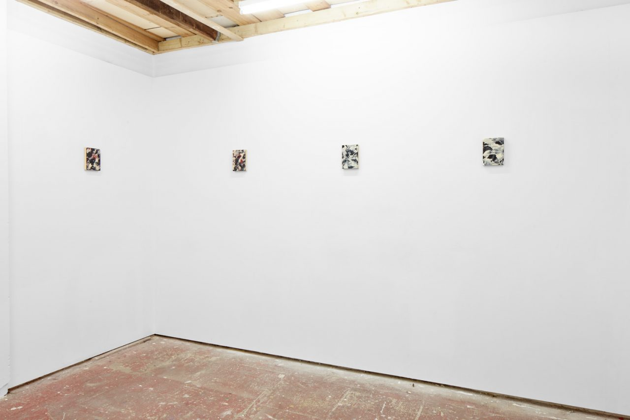 Install shot of Cosmic Giggles Show