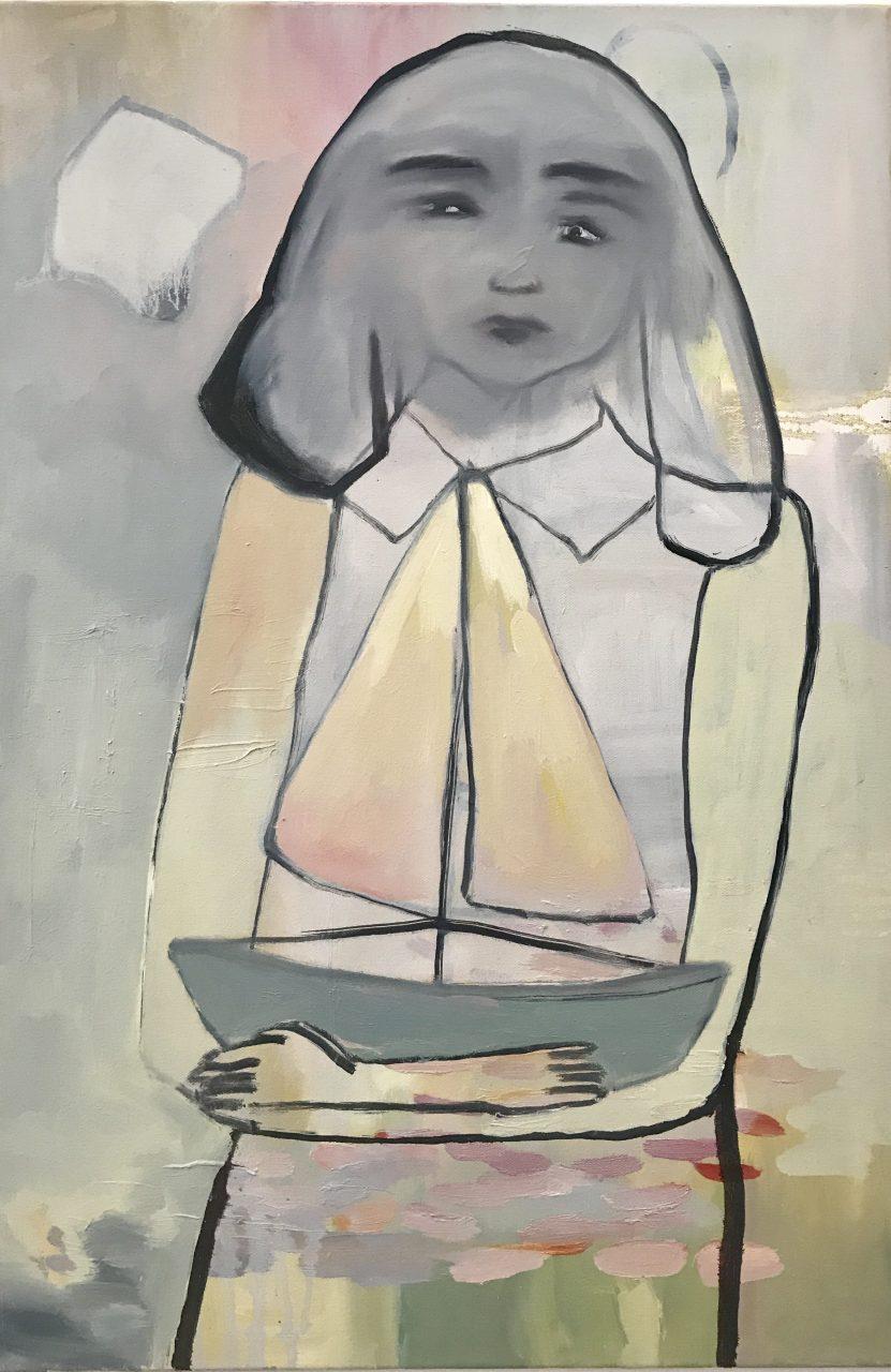 Mon Coeur en Bateau | Elisabeth Lecourt | available artwork