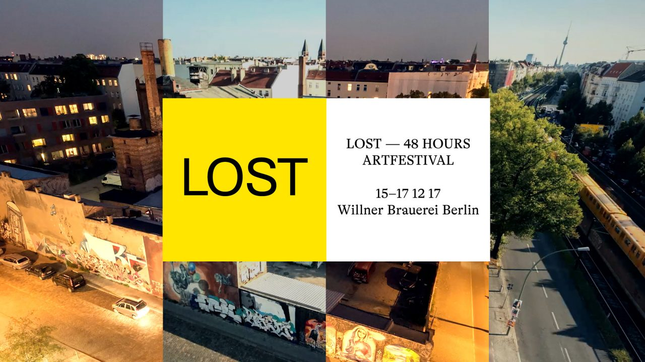 LOST- 48 HOURS ARTFESTIVAL