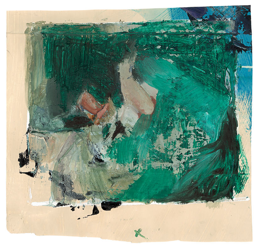 fnzs 10, 2013,mixed media on paper, 38 x 40 cm