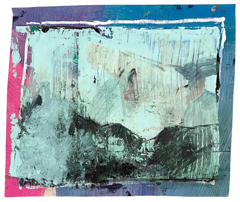 fnzs 7, 2013, mixed media on paper, 33,5 x 39,5 cm