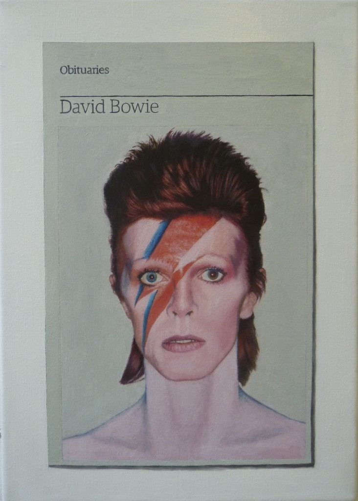 Anniversary of the death of David Bowie