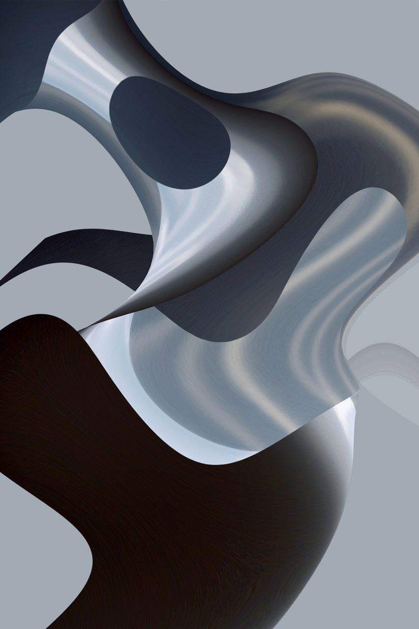 Formation_im_Raum2, Experimental Fine Art Photography, Farbpigment auf Aludibond, matt, 2014, 120 x 80 cm, Unikat