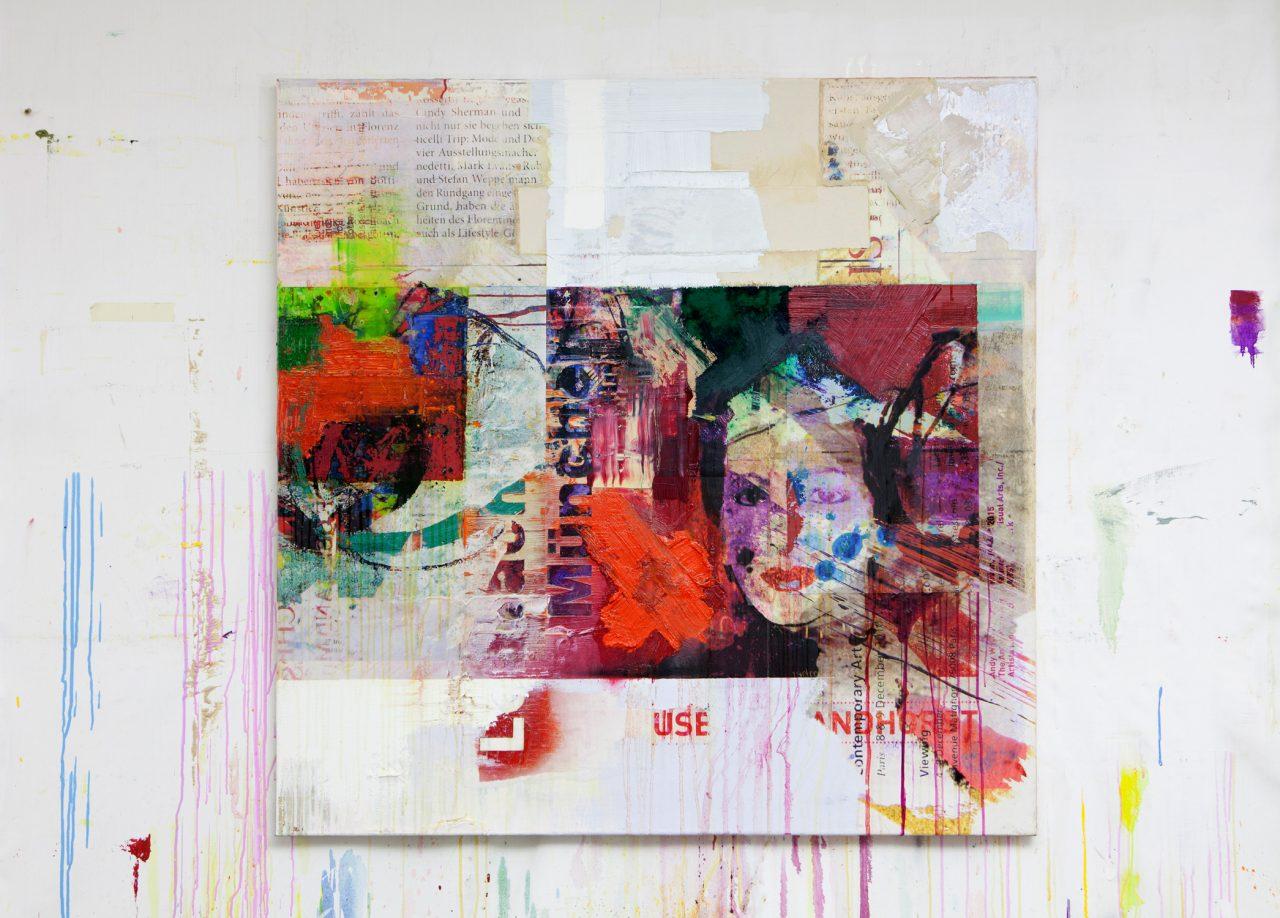 Painting 120 x 120 cm