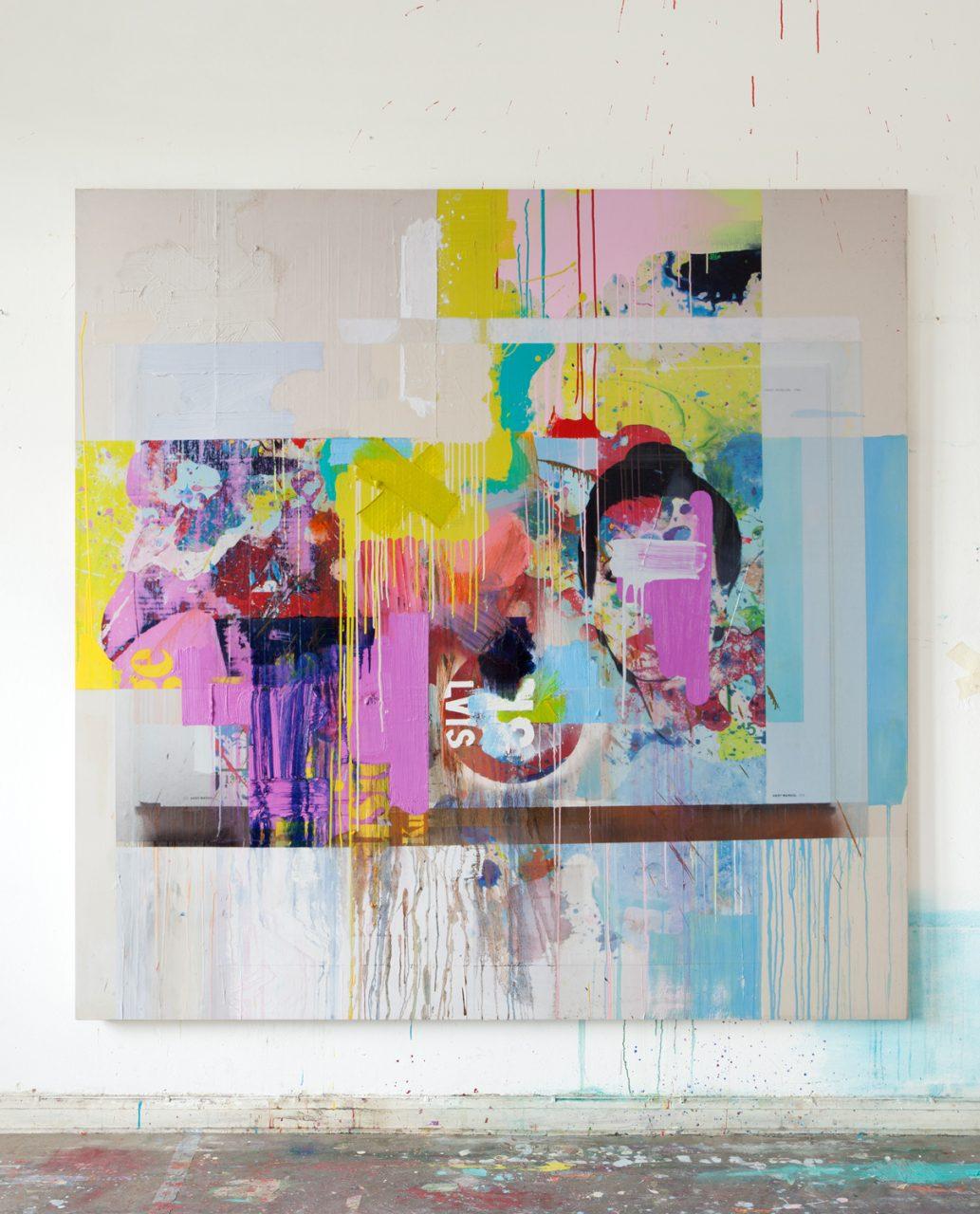 Painting 200 x 200 cm