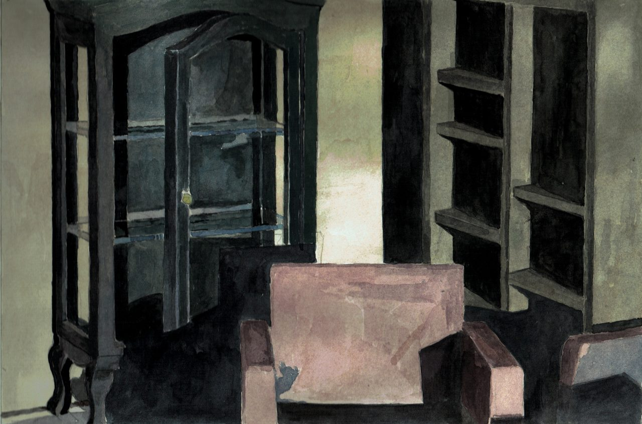 Room | Watercolor on Paper