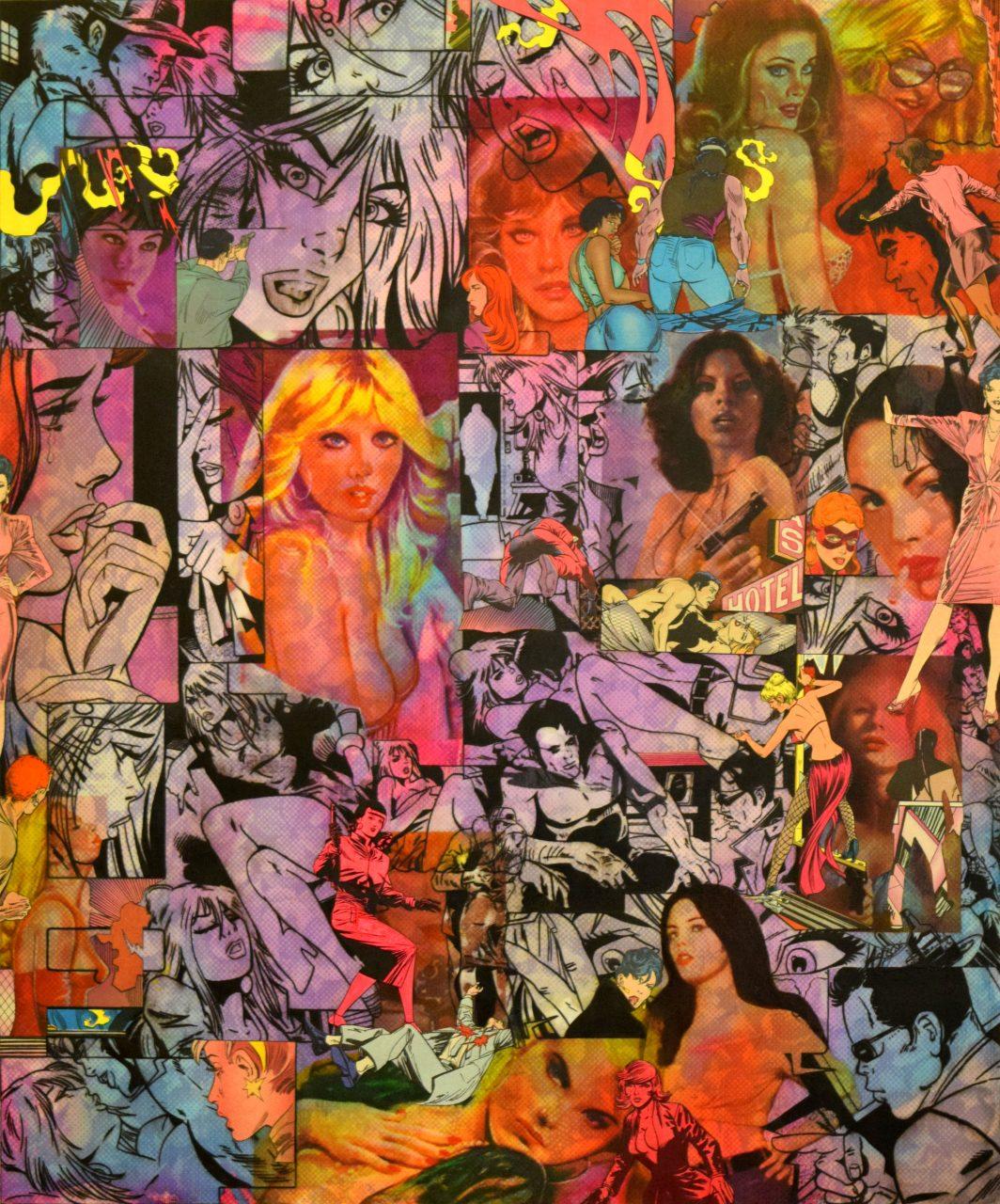 """Desire In Neon"" | Raven Schlossberg | available artwork"